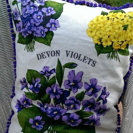Linen Tea Towel Cushions